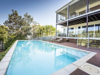 Photo for Modern & beautifully appointed beach house & only a minutes walk to the beach