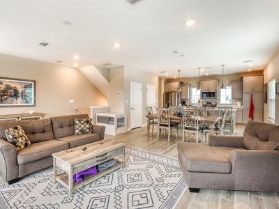 Photo for Deluxe dog-friendly townhome w/ Gulf views, shared pools, and beach access!
