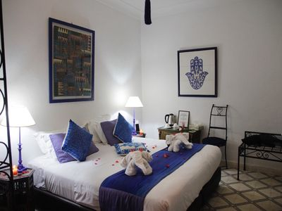 Photo for Indigo Suite - Riad in the heart of Marrakech