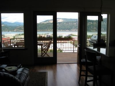 House Living Room View Columbia River and Hood River