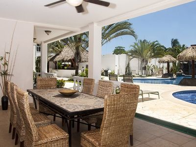 Photo for Large Ground Floor Condo Steps From the Pool