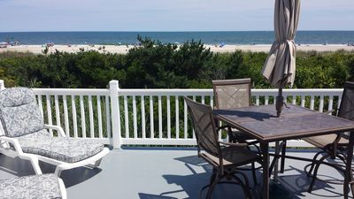 Photo for Wonderful Beachfront Home With Unobstructed Views Of Beach And Bay!!