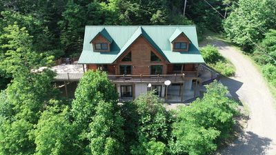 Photo for Lodge at Laurel Fork - Upscale, Secluded, Tranquil Mountain Retreat