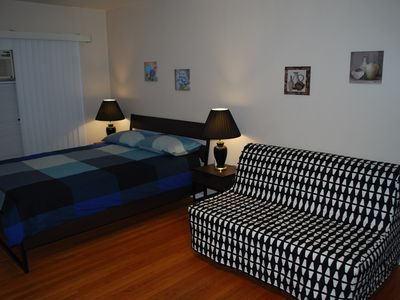 Photo for Large room 1 with bathroom in a house near Universal