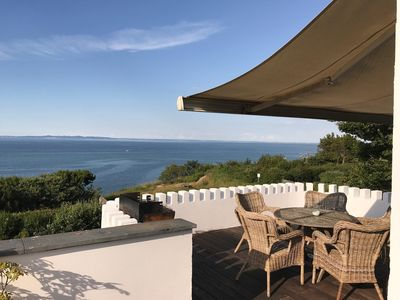 Photo for 2-Floor house for 9 people in Gilleleje with outstanding panoramic views over th