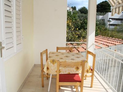 Photo for One bedroom apartment with terrace Podgora (Makarska) (A-2615-a)