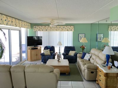 Photo for Beautiful Ocean Front 3 Bdrm On The Non-driving Section Of New Smyrna Beach