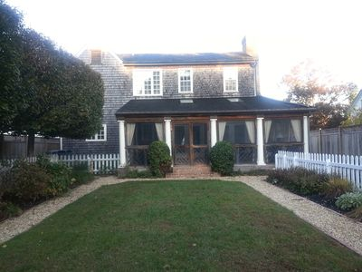 Photo for Beautiful Home With Private Pool Nestled In Historic Lewes De