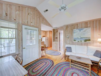 Photo for 39 1/2 Olive Ave, Simple, rustic, adorable 1-bed, 1-bath apt w/Woodland & Lake View