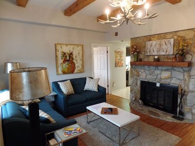 Photo for SugarTop Condo! Panoramic View of Ski Slopes & Sunsets! Heated Pool & Hot Tub