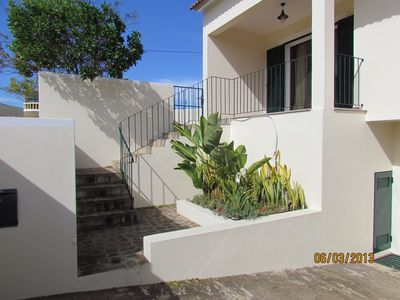 Photo for Family house with sea view, large outside garden with BBQ & patio area-sleeps 10