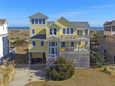Photo for Spectacular Oceanfront Home Salvo w/ Poolside Kitchen & Grill, Hot Tub, Game Rm