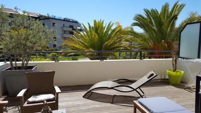Photo for Apartment/ flat - Magnificent apartment in luxury residence is 100 meters of beaches(ranges)