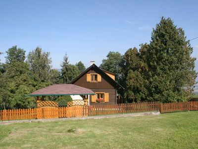 Photo for Splendidly located chalet-type house overlooking Wolfsberg and the Lavant Valley