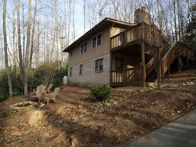 Photo for HOT TUB! Absolutely PERFECT Location Btwn Blowing Rock & Boone! Cozy & Updated!