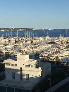 Photo for Sea view apartment close to the harbor Golfe Juan