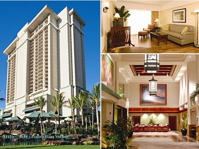 Hilton Grand Vacations Kalia Tower Condo Christmas Week December 21- 28, 2019