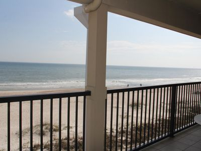 Photo for AUGUST SPECIAL PRICING  165.00-195.0 Nightly - 'Ocean Front Beach Jungle Condo'