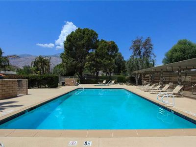 Photo for Gorgeous Midcentury Condo with Large Outdoor Courtyard, Just Steps from Pool and Tennis!