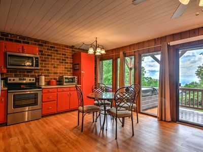Photo for Hillsville Condo w/ Hot Tub, Deck & Gorgeous Views