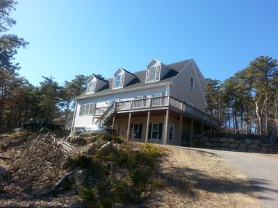 Photo for Beautiful, New Hill Top Retreat, Minutes to Provincetown