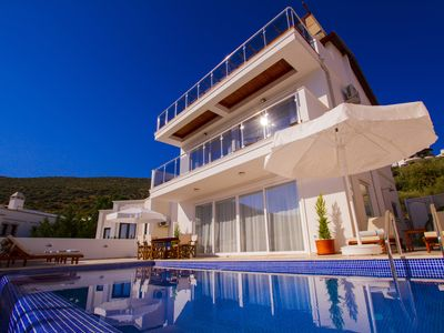 Photo for Villa Neo, New 3 Bedroom Villa, Close To The Sea With Stunning Views Across Kala