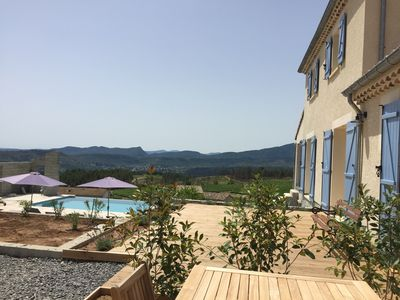 Photo for Luxurious newly built villa with overflow pool and panoramic views