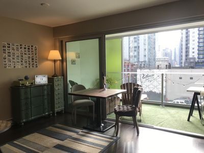 Photo for Modern Yaletown 1 bedroom with large sunny patio