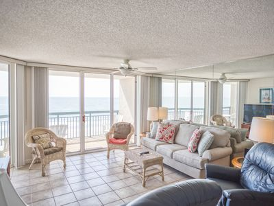 Photo for North Shore Villas 502! 3BR Oceanfront Condo! Book now for best rates!