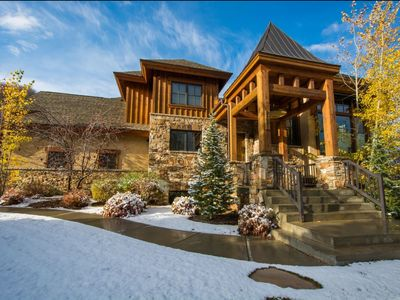 Photo for Winter weeks already disappearing SKI in/out 5 bed-Home Theater-Hot Tub BOOK NOW