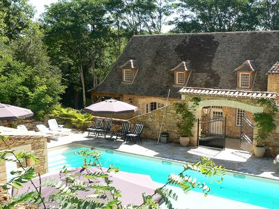 Photo for Gorgeous Country House with large luxurious (shared) pool 14.5m x 6m