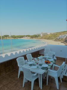 Photo for Menorca 5 Star debuts rent Bungalow beachfront, 4 to 7 person