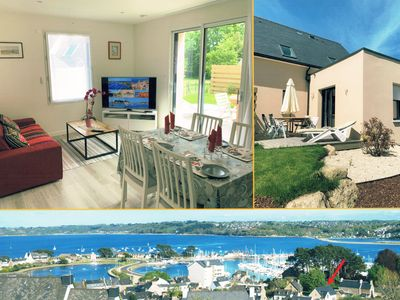 Photo for Perros-Guirec / Port, Duplex Standing *** 51 m² / 4-5 pers, Garden & Parking, Wifi