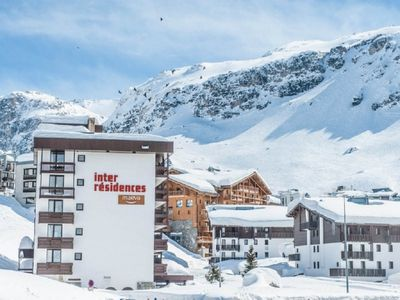 Photo for Tignes Val Claret studio 4 people South Terrace, Pool & Sauna