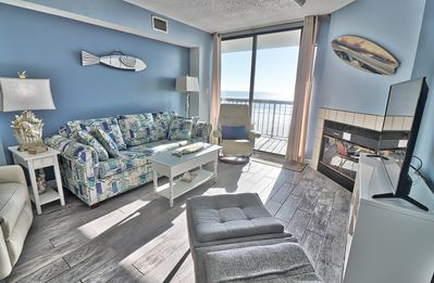 Photo for Waterpointe1 0502 - Windy Hill - Ocean Front - Views - Pools
