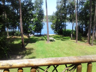 Photo for Gainesville Area Lakefront Home (Riley Lake) Canoe Jonboat Unlimited Wifi