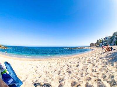 Photo for Peaceful Charming Condo a short walk to the  Magnificent Private Beach!