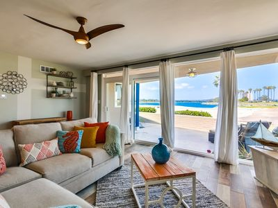 Photo for 🏝 UNMATCHED ☀️ | WATERFRONT | Family Beach Rental, Private Ground Floor