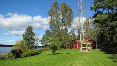 Photo for Holiday home with lake view in Bränntorp, Rejmyre, Östergötland / Södermanland