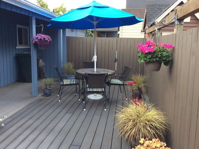 Quiet One-Bedroom Cottage with Deck in Walkable Neighborhood