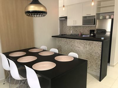 Photo for Apartment novissino in Guarujá Enseda beach with Security and leisure