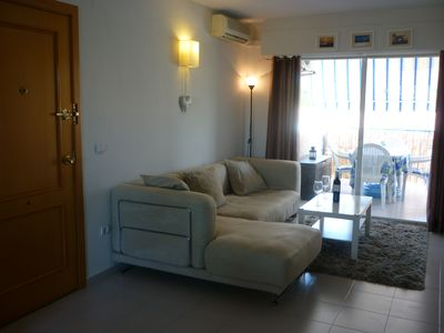 Photo for Bright & modern 2 bedroom apartment in a central location on the flat in Albir