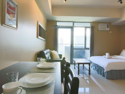 Photo for Comfy Manhattan Heights Unit Araneta Cubao 20MBPS!