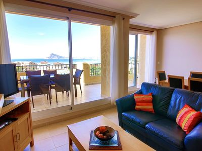 Photo for Penthouse Apartment With Mountain And Sea Views