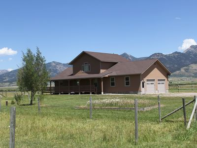 Photo for River Front House/Pet Friendly Ranch, close to Yellowstone