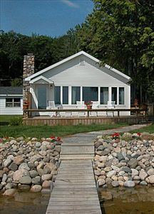 Photo for Lake Front Cottage on Douglas Lake Near Petoskey & MacKinaw