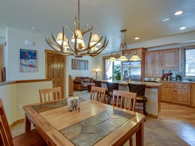 Photo for NEW LISTING! Mountain view townhome w/deck - 4 miles to Winter Park Resort