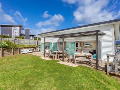 Photo for Beach Time - Modern, sunny home close to amenities, a great place to relax and watch the kids play