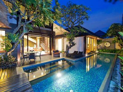 Photo for 2 Bedroom villa Seminyak near shops