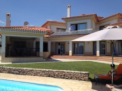Photo for Luxury 4 Bedroom Villa With Solar Heated Pool On Golf Course